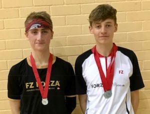 U17B Devon - Jonathan and Archie - Silver Doubles